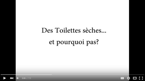 French Language Video about Composting as a Sanitation Alternative
